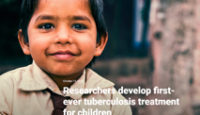 Researchers Develop First-ever Tuberculosis Treatment for Children