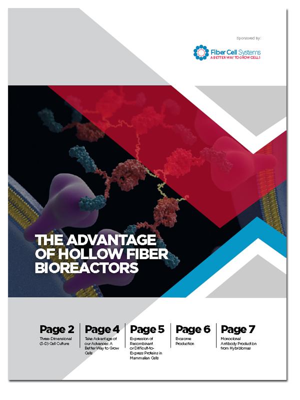 The Advantages of Hollow Fiber Bioreactors in Cell Culture